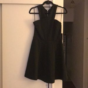Express LBD with criss cross neck size 8